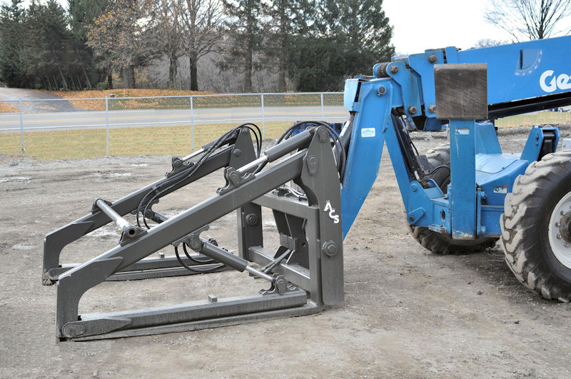 Acs Hydraulic Pipe Grapple Forks Attachment News