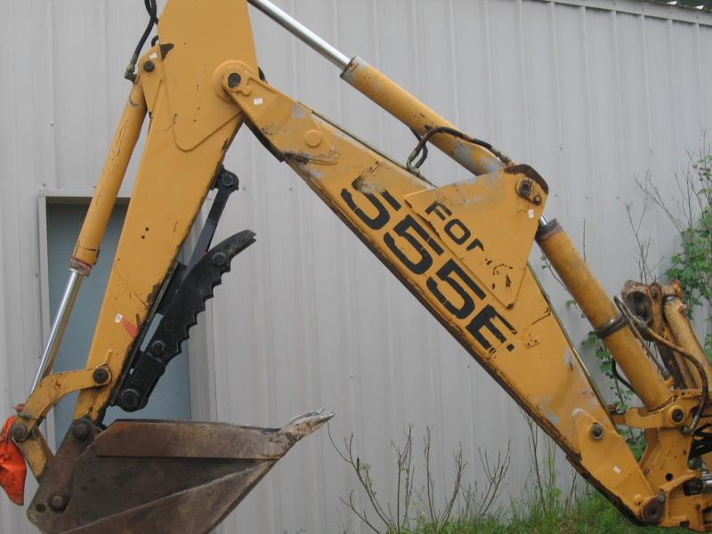 Ford 555e Backhoe Parts Diagram : East attachments eamt mechanical thumb caterpillar
