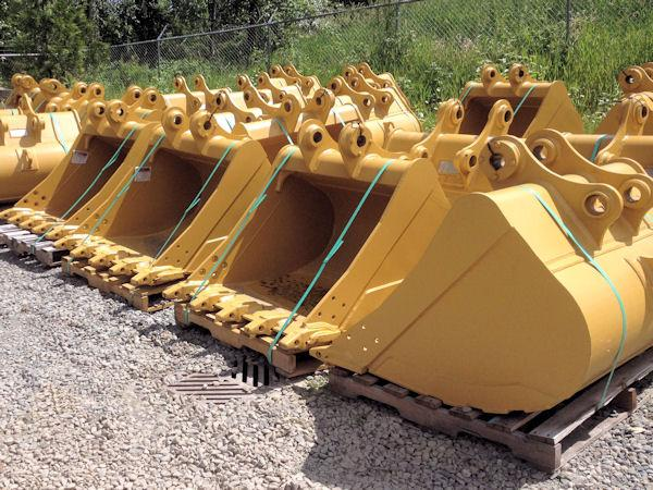 Used Cat Excavator Buckets For Sale